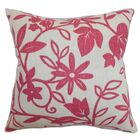 Gambela Floral Throw Pillow Color: Rose, Size: 24