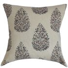 Faeyza Throw Pillow Color: Indigo, Size: 20