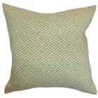 Kibler Geometric Cotton Bedding Sham Size: King