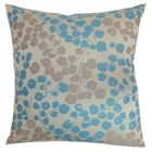 Reynosa Floral Bedding Sham Size: King, Color: Blue/Haze