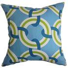 Katyin Geometric Cotton Throw Pillow Size: 20