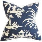 Delana Floral Bedding Sham Size: King, Color: Blue
