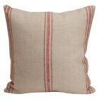 Artisan Classic Stripe Linen Throw Pillow