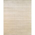 Hand-Knotted Wool and Rayon from Bamboo Silk Beige Area Rug