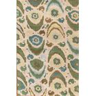 Ikat Hand-Tufted Multi-colored Area Rug
