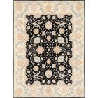 Ferehan Hand-Knotted Black Area Rug