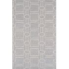 Transitiona Hand-Tufted Wool/Silk Silver Area Rug Rug Size: Rectangle 5'6