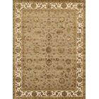 Agra Hand-Knotted Brown Area Rug