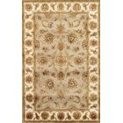 Agra Hand-Knotted Wool/Silk Area Rug