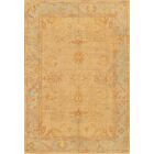 Oushak Hand-Knotted Camel Area Rug