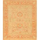 Oushak Hand-Knotted Peach Area Rug