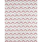 Hand-Loomed Grey / Rust Area Rug Rug Size: Rectangle 8' x 10'