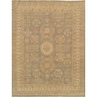 Khotan Hand-Knotted Light Gray/Beige Area Rug Rug Size: Rectangle 2' x 3'
