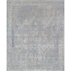 Hand-Knotted Gray Area Rug Rug Size: 9' x 12'