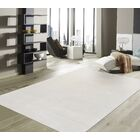 Edgy Hand-Tufted Beige Area Rug Rug Size: 5' x 8'