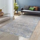 Modern Rayon from Bamboo Silk Hand-Knotted Gray/Taupe Area Rug Rug Size: 9' x 12'