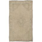 Oushak Lamb's Wool Hand-Knotted Beige Area Rug