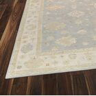 Oushak Hand-Knotted Wool Gray/Beige Area Rug