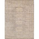 Oushak Hand-Knotted Silk Toupe Area Rug Rug Size: Rectangle 9' x 12'