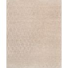Transitiona Hand-Woven Silk/Wool Beige Area Rug Rug Size: Rectangle 5' x 8'