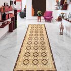Ferehan Hand-Knotted Wool Brown/Beige Area Rug