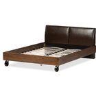 Baxton Studio Francesca Upholstered Platform Bed Size: Full