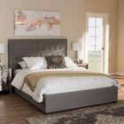 Sedgwick Queen Storage Platform Bed Color: Light Gray