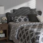 Brophy Upholstery Panel Headboard Upholstery: Dark Gray, Size: Full