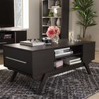 Wadkins Modern Coffee Table Color: Espresso