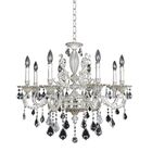 Casella 8-Light Candle Style Chandelier Crystal: Firenze Clear
