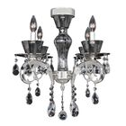 Locatelli 4-Light Candle Style Chandelier Crystal: Firenze Clear