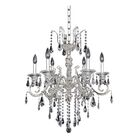 Haydn 6-Light Candle Style Chandelier Crystal: Firenze Clear