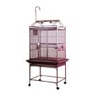 Bayer Large Play Top Bird Cage Color: Burgundy