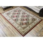 Super Belkis Red/Green Area Rug Rug Size: 6'7