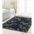 Winchester Navy Area Rug Rug Size: 8' x 11'
