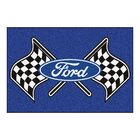Ford - Ford Flags Tailgater Mat Rug Size: 5' x 8'
