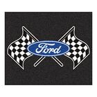 Ford - Ford Flags Tailgater Mat Rug Size: 5' x 6'