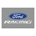Ford - Ford Racing Doormat Color: Gray