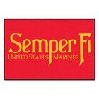MIL U.S. Marines Doormat Mat Size: 4' x 6'