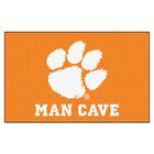 Collegiate NCAA Clemson University Man Cave Doormat