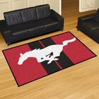 Ford - Mustang Horse Tailgater Mat Rug Size: 5' x 8'
