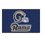 NFL - Los Angeles Rams Starter Doormat Mat Size: 5' x 8'