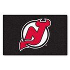 NHL - New Jersey Devils Doormat Mat Size: 5' x 8'