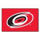 NHL - Carolina Hurricanes Doormat Mat Size: 5' x 8'