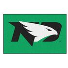 Collegiate University of North Dakota Doormat Color: Green, Mat Size: Rectangle 5' x 8'