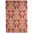 Oriental Red and Gold Area Rug Rug Size: Rectangle 8' x 10'