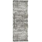 Moonlight Path Grey Area Rug Rug Size: Rectangle 6' x 8'