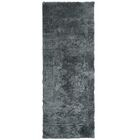 Fluffy Charcoal Area Rug Rug Size: Runner 2'6