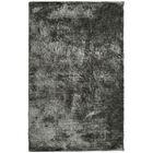 Fur Charcoal Area Rug Rug Size: 8' x 10'