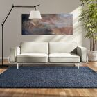 Modern Shag Blue Sailor Area Rug Rug Size: 6' x 8'